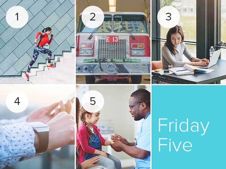 The Healthline Friday Five