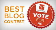 Please vote for me and all the other RA bloggers over at Healthline's Best Health Blog Contest