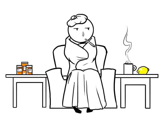 MS med's flu-like side effects