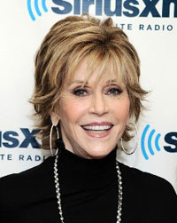 Actress Jane Fonda.