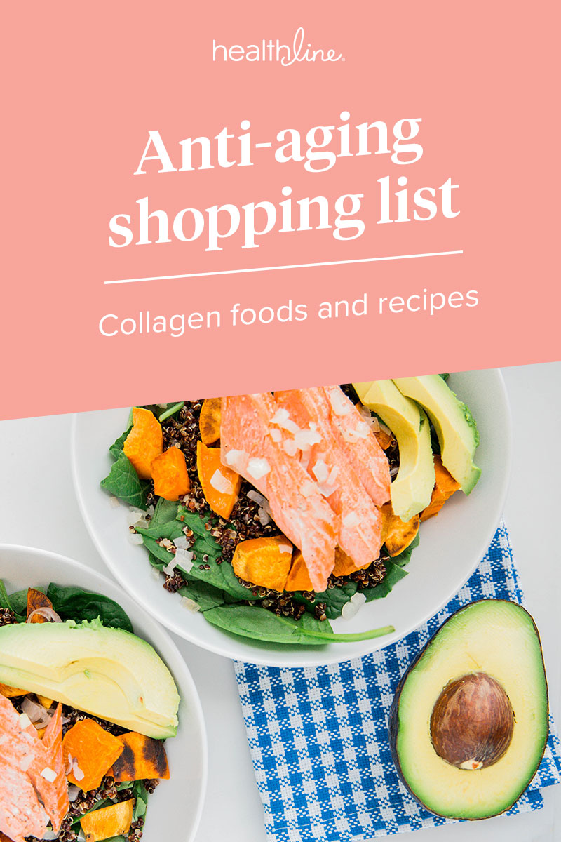 15 Foods And Recipes For A Collagen Boosting Anti Aging Diet