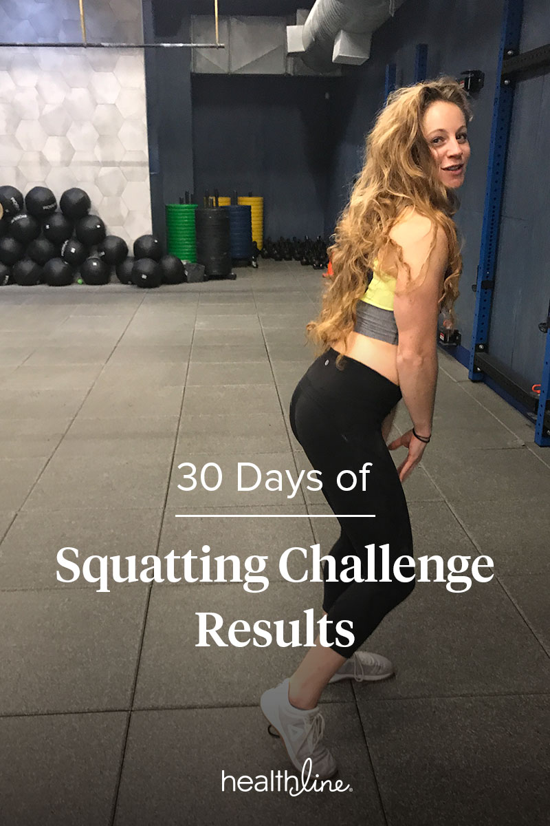 I Did 30 Days Of Weighted Squats It Transformed More Than My Butt Complete The First Set Three Workouts Times Before Switching