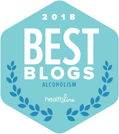 alcoholism best blogs badge 2018