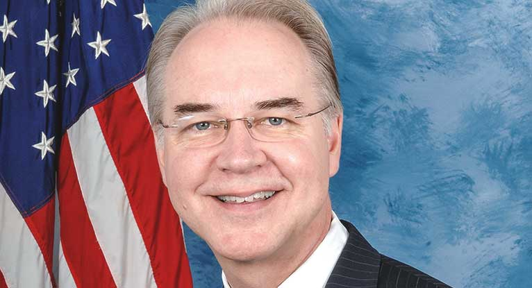 Trump's Health Secretary Nominee: Anti-Abortion, Against Stem Cell Research, Thinks Tobacco Isn't a Drug