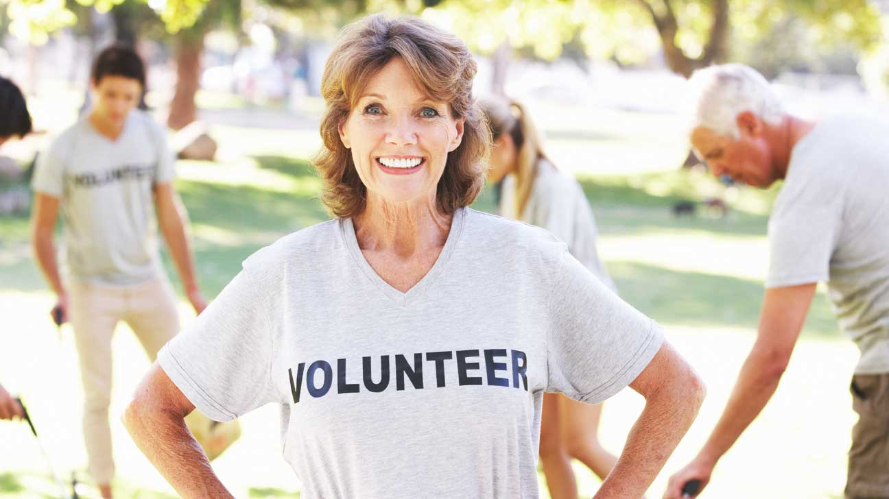 volunteering helps seniors