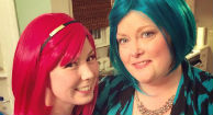Young Mother Battles Breast Cancer with Humor and a Hot Pink Wig