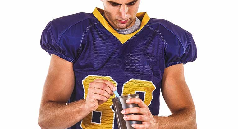 Health Food Stores Recommending Sports Supplement to Teens