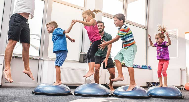 Exercise Benefits Children Physically and Mentally