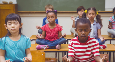 Meditation and Yoga Joining Arithmetic and Reading in U.S. Classrooms