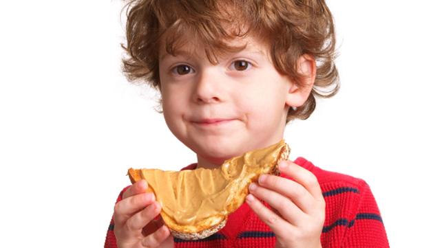 Image result for children eating peanut butter