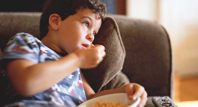 Junk Food Ads May Cause Kids to Overeat