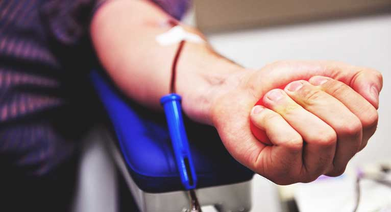 Blood Donations at Critically Low Levels