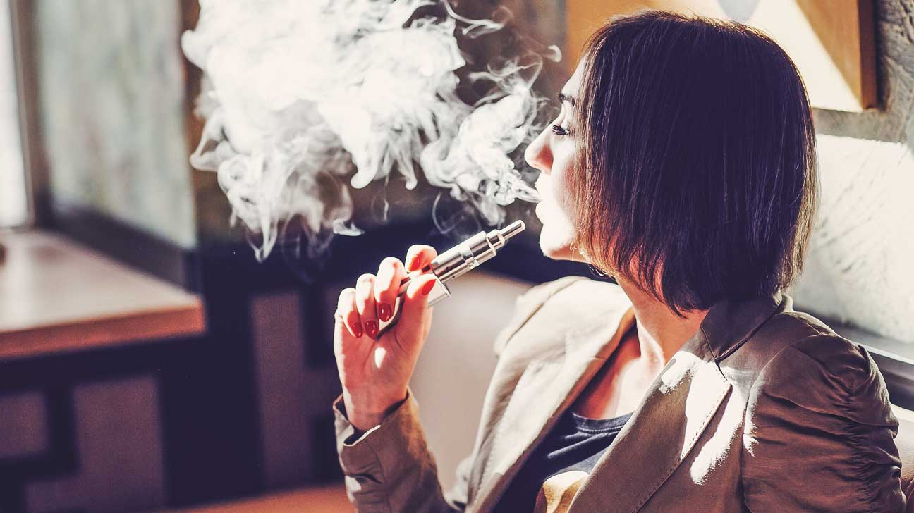 e-cig lung dangers