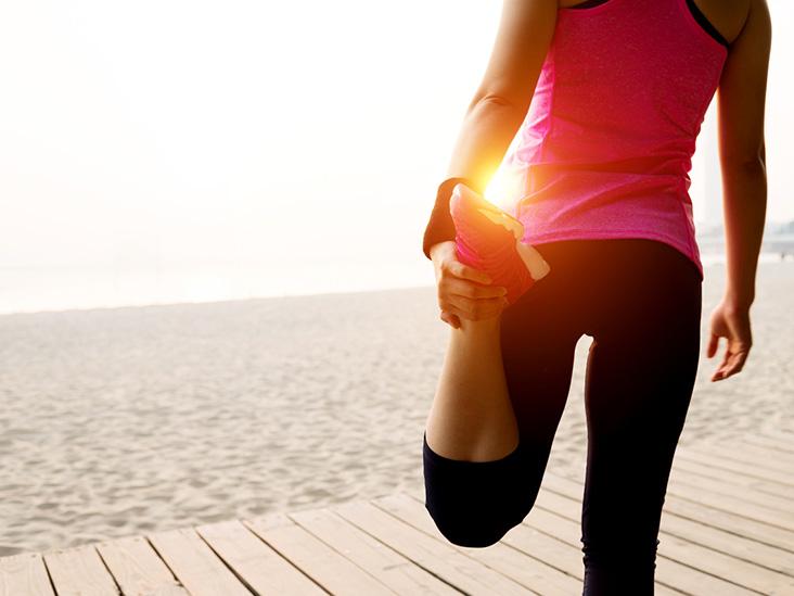 Hip leg pain vaginal discharge