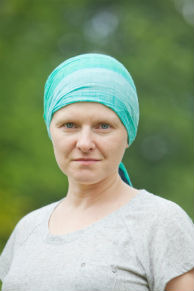 A woman who's undergone chemotherapy