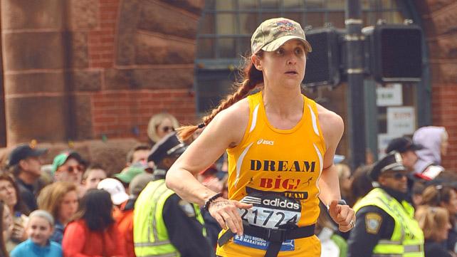 Demi Knight Clark, Boston Marathon runner