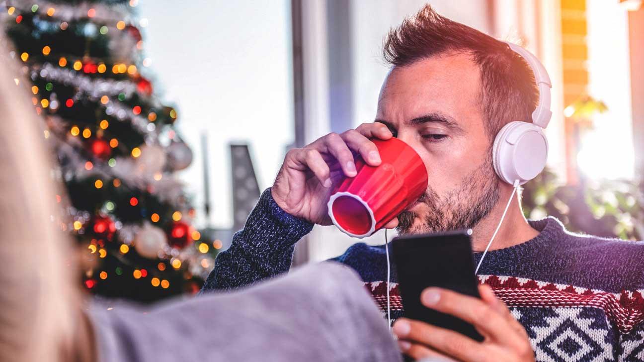 Christmas music mental health