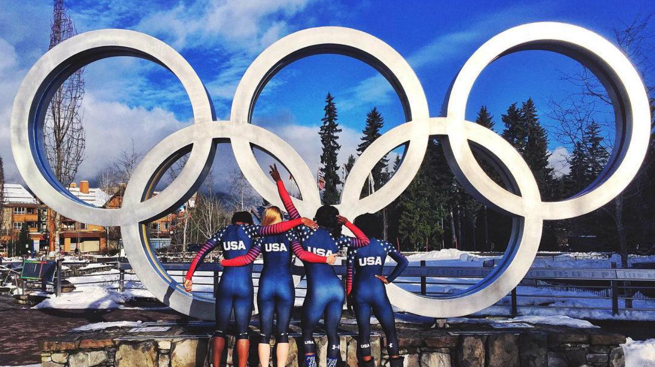 Winter Olympics training