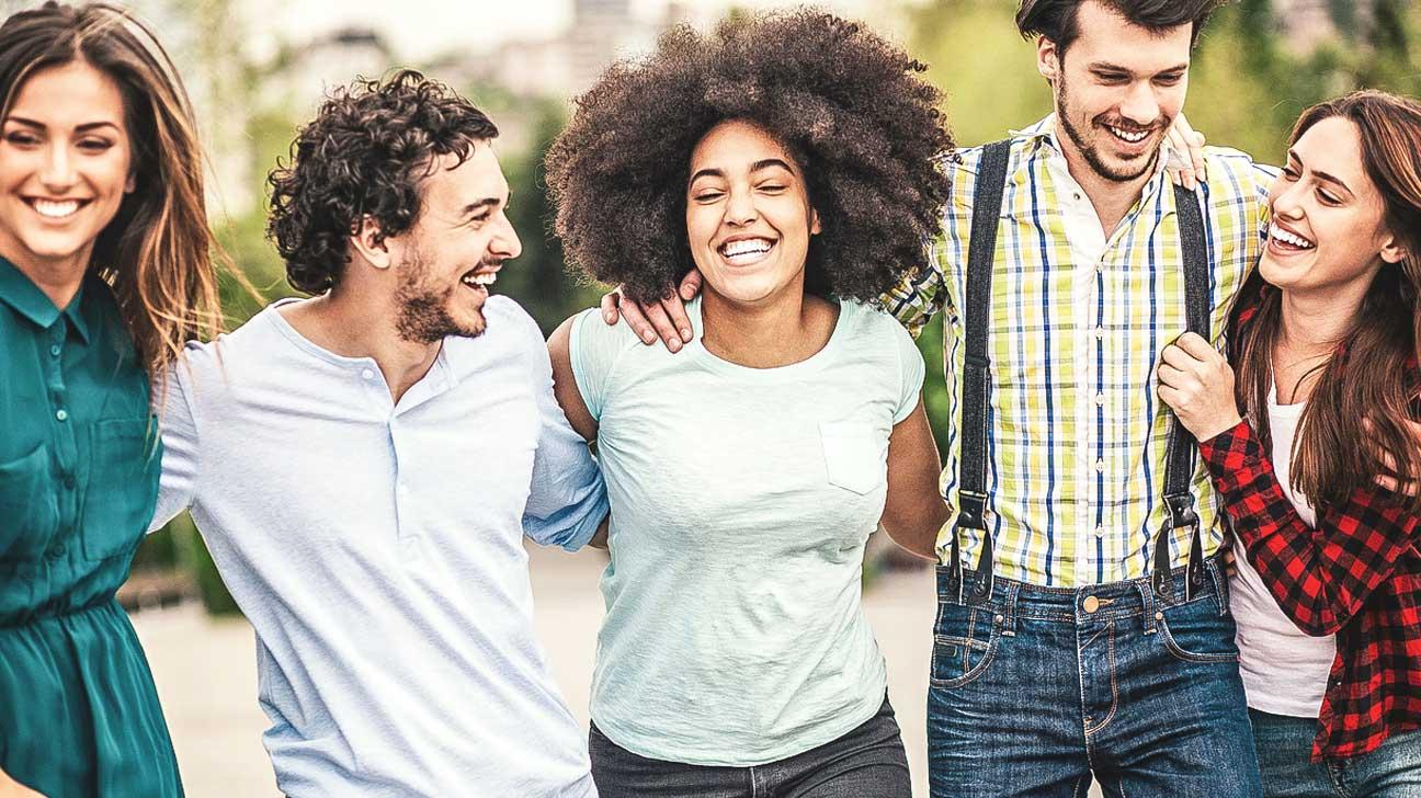 happy and healthy society