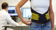 New Orthopedic Belt, Lumbia, Assesses and Treats Low Back Pain