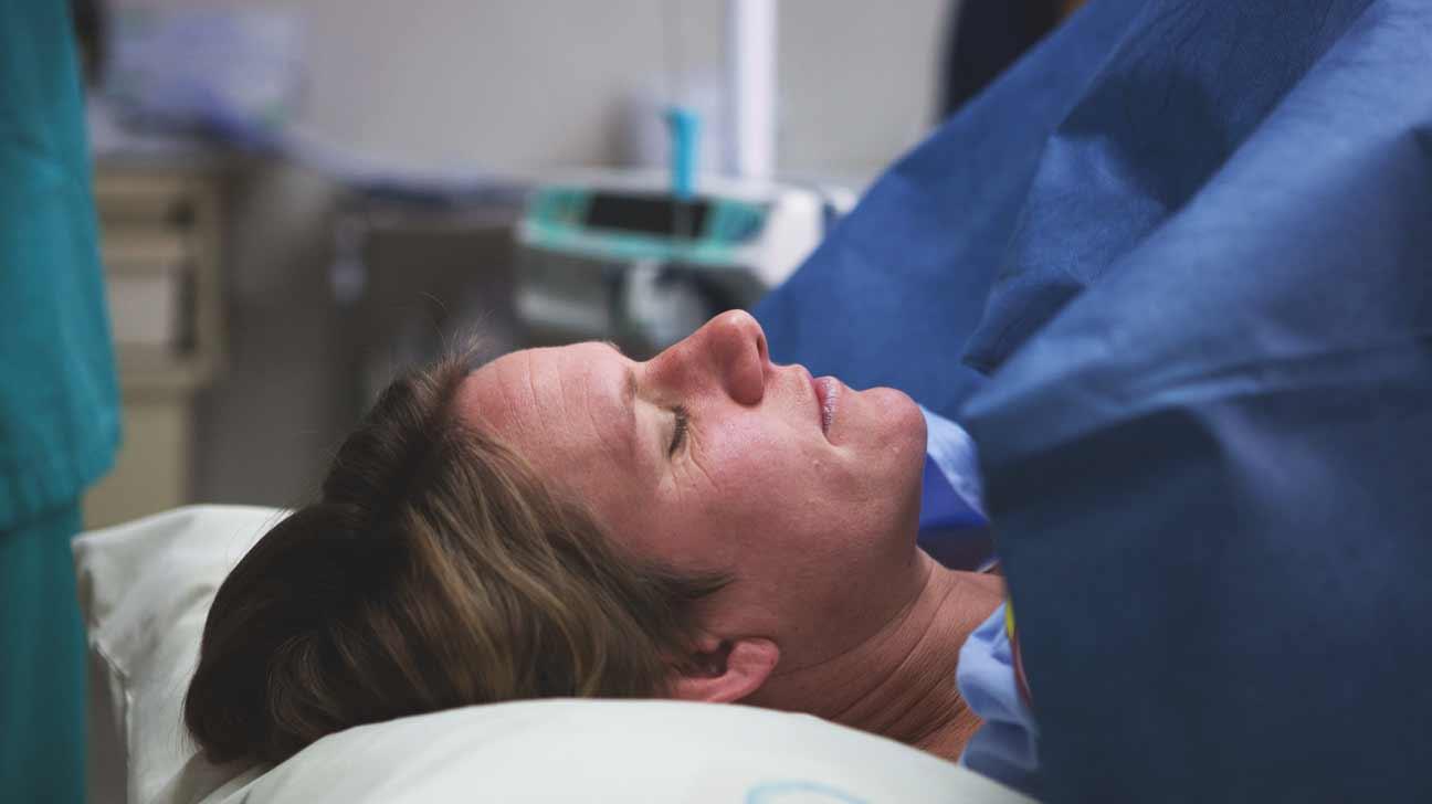 women watching c-sections