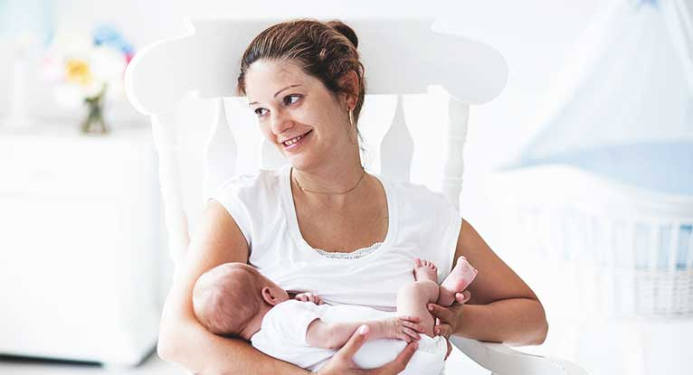 Breast-feeding Gaining More Acceptance