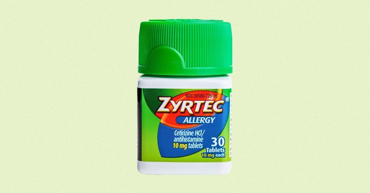 Adult effects side zyrtec