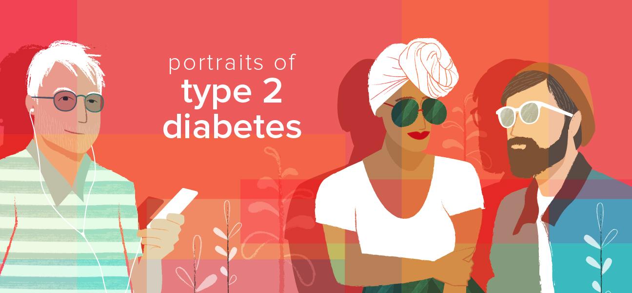 portraits of type 2 diabetes