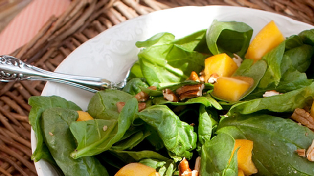 Persimmon and Pear Salad