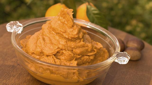 Ginger-Garlic Mashed Sweet Potatoes