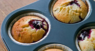 Breakfast: Paleo Blueberry Muffins