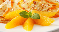 Dessert: Paleo Orange Dessert Crepes