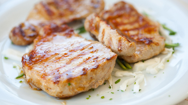 Glazed Pork Filet Mignons
