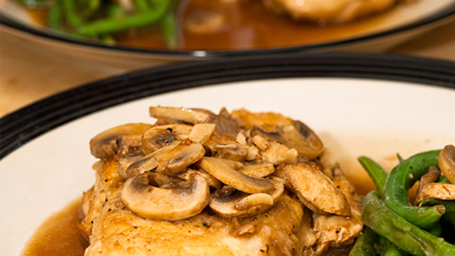 Seasoned Chicken Marsala
