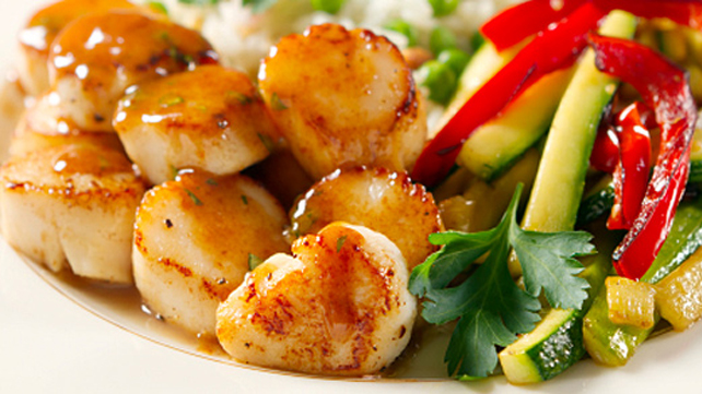 Hot and Sour Scallops