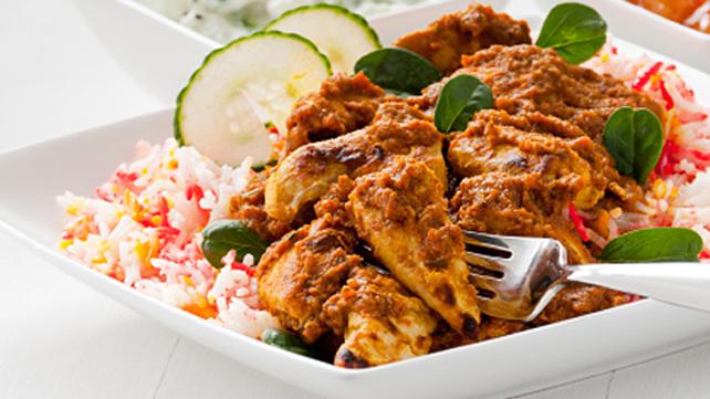 Madras Curry Chicken