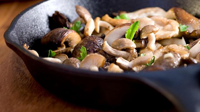 Mushroom and Beef Saute