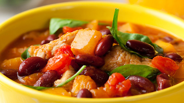 Chicken Chili in a Jiffy