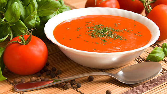 Fresh-from-the-Garden Tomato Soup
