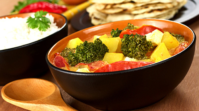 Indian Curried Vegetables