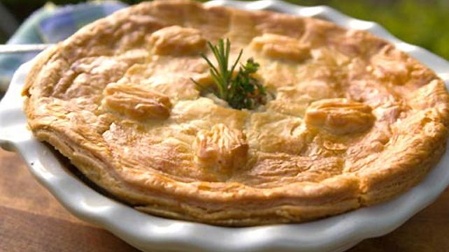 ... you can make a vegetable pot vegetable pot pies vegetable pot pie