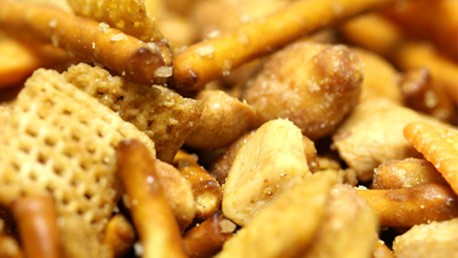 Sweet and Spicy Party Mix