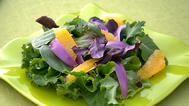 Warm Orange Salad