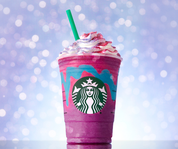 5 Reasons the Starbucks Unicorn Frappuccino Is Failing Your Diet with Flying Colors