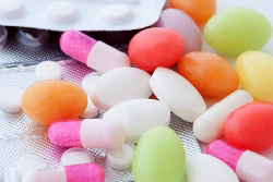 A pile of pills.