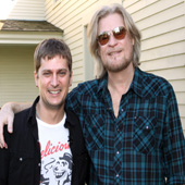 Daryl Hall con Rob Thomas