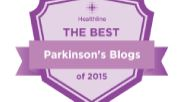 Best Parkinson's blog medal