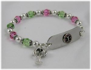 beagle bracelet med ID