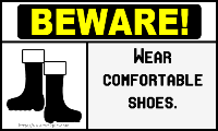 wear-comfortable-shoes