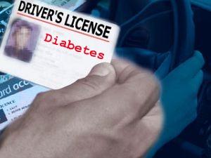 driver's license diabetes